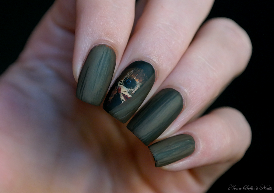 Annabelle Horror Movie Inspired Nail Art Annabelle Annabellenails
