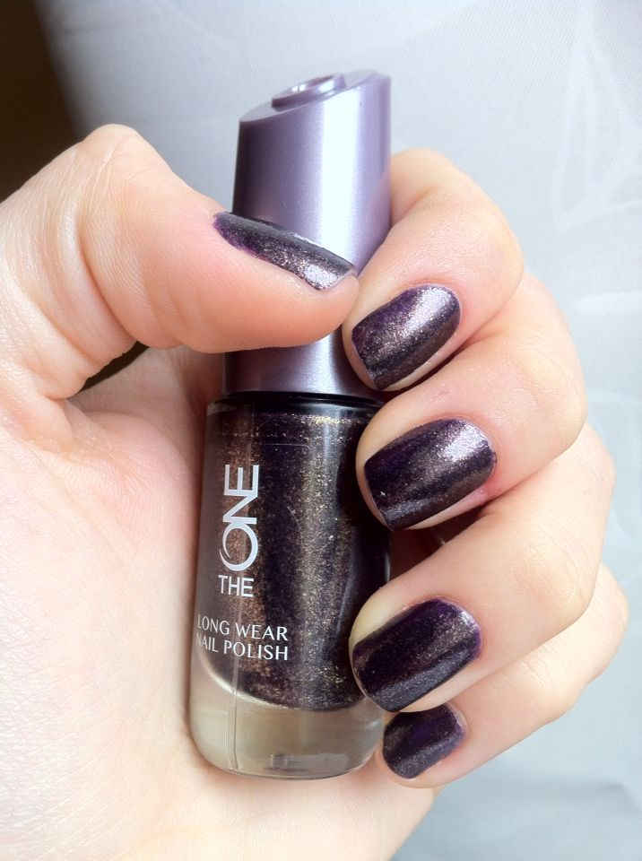 Fall nails 2015 - Amethyst Rock nailpolish from Oriflame The One ...