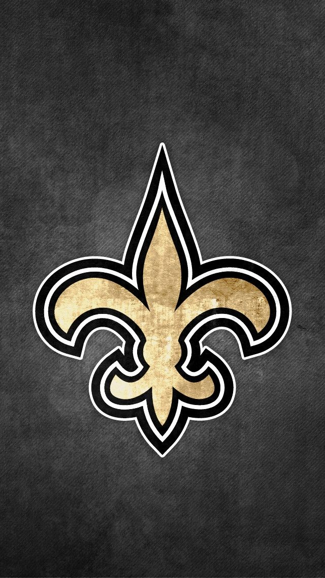 New Orleans Saints Rusty Look Iphone Wallpapers Iphone Phone