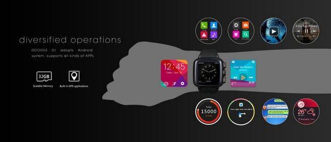 Interesante: El smartwatch Doogee S1 se muestra al completo en un vídeo