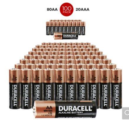 Impecca Alkaline Aa Batteries 100 Pack Lowes Com Alkaline Battery Batteries Alkaline