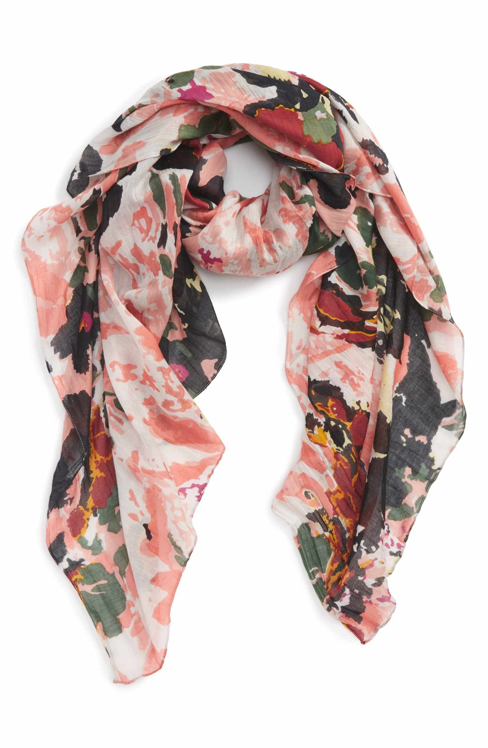 dce004308190 Main Image - Sole Society Abstract Print Scarf   My Style   Pinterest