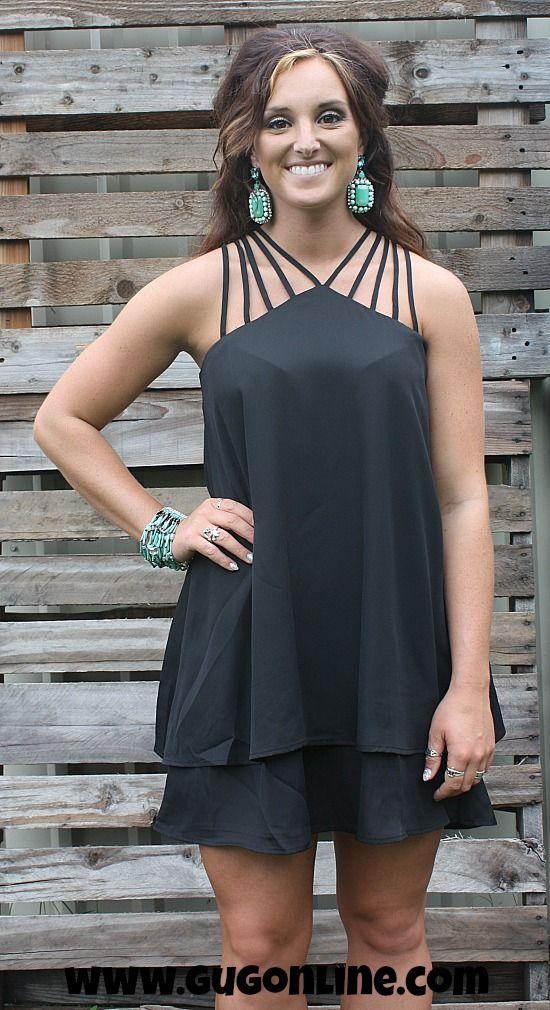 Shake It Off Black Dress $34.95 www.gugonline.com
