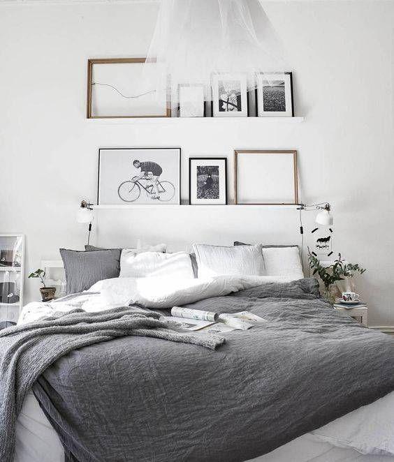 No Headboard Ideas Alternative Bedroom Decorating Domino Bedroom Interior Bedroom Inspirations Bedroom Design