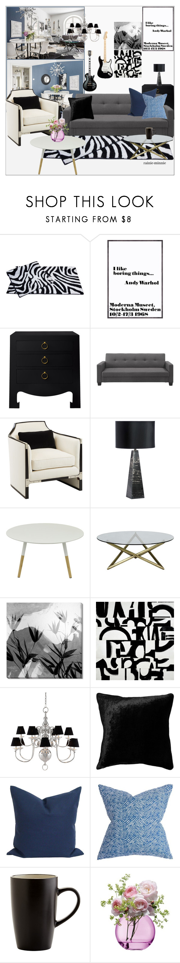 """""""Stockholm"""" by rainie-minnie ❤ liked on Polyvore featuring interior, interiors, interior design, home, home decor, interior decorating, Bungalow 5, Dorel, Dot & Bo and Eichholtz"""
