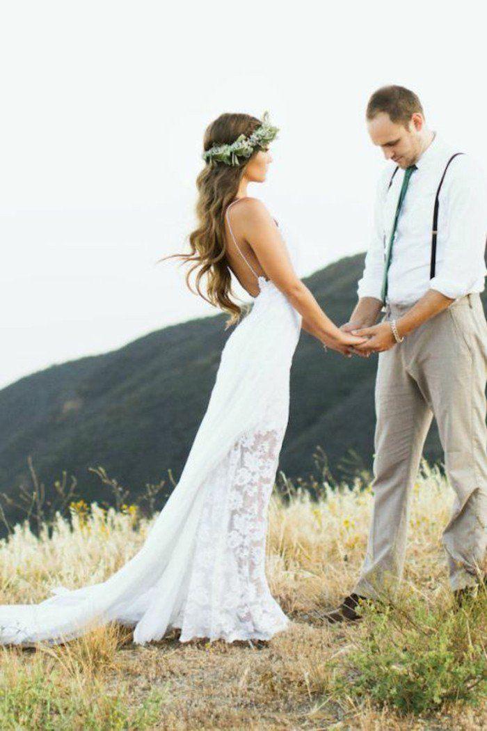 robe de mariée bohème chic - choisissez votre modèle