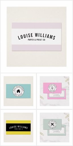 Retro modern business cards paper and print zazzle pink blush retro modern business cards paper and print zazzle pink blush circle logo reheart Gallery
