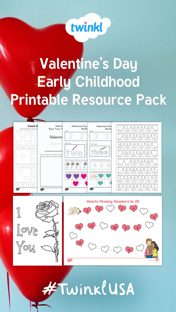 A useful early childhood pack with everything you need for ...