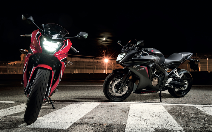 Download Wallpapers 4k, Honda CBR650F, Superbikes, 2018