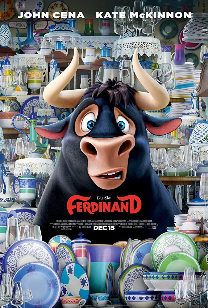 Latest Posters Ferdinand movie, Ferdinand the bulls