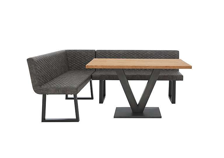 Compact Earth Dining Table Corner Dining Bench Dining Room Small Industrial Style Dining Table