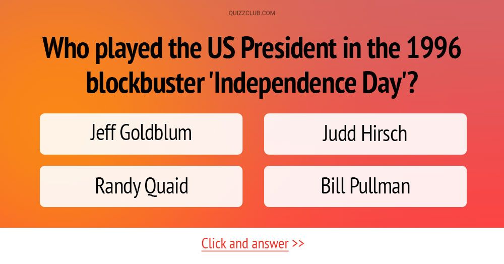 Who played the US President in the 1996 blockbuster 'Independence Day'? #Quiz #Trivia #MovieQuiz