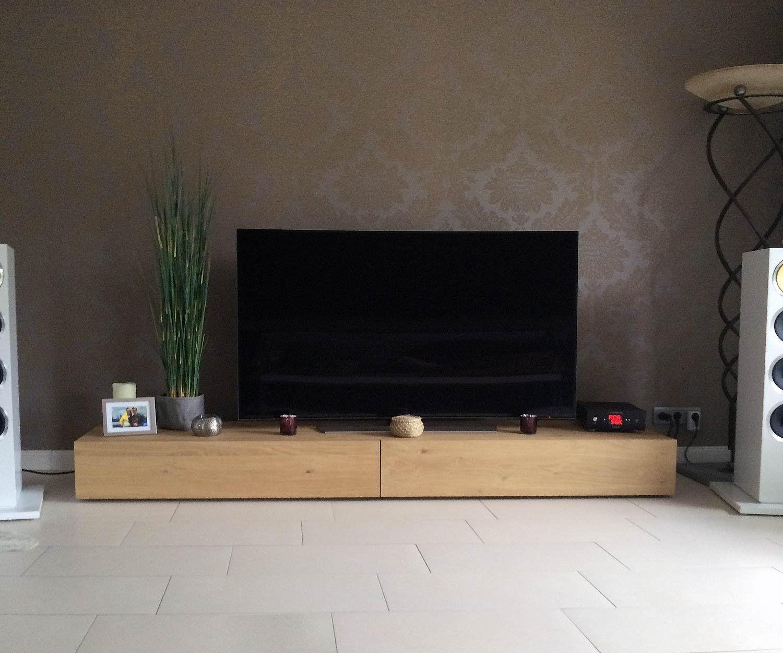 Exquisit Holz Lowboard Sammlung Von Livitalia Konfigurator 270 Cm Eiche Hell