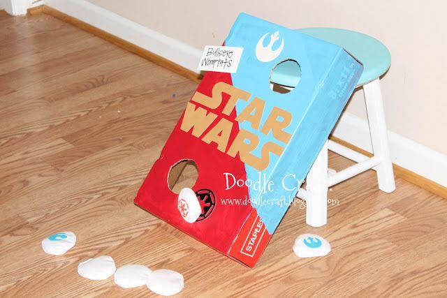 Star Wars Bean Bag Toss!