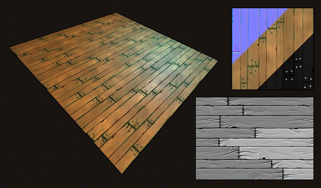 Tiling wood floor matthew tinari on artstation at httpswww a tiling wood floor texture sculpted in zbrush dailygadgetfo Images