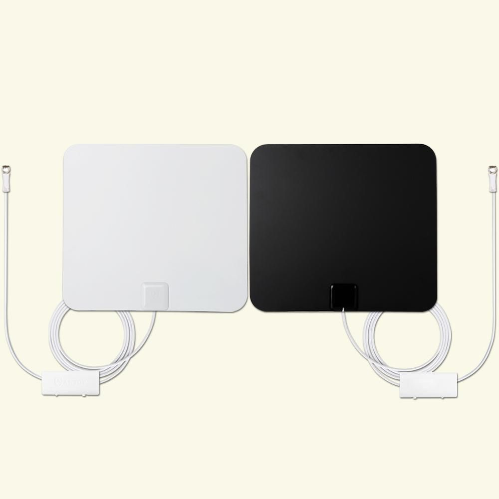 Antop Paper Thin Indoor TV Antenna Combo Pack with Two
