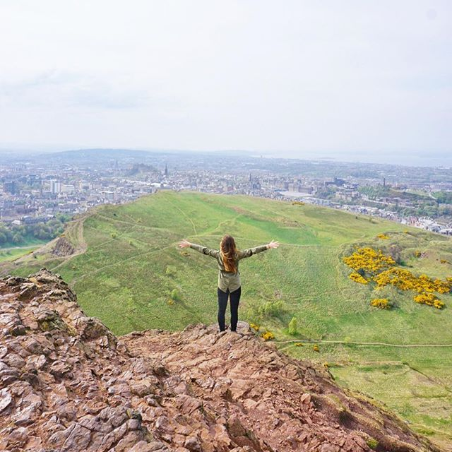 What do you do the day after your hen party? Walk up the biggest hill in Edinburgh of course! It was windy up there, but the views are always worth it! // . . . . . #edinburgh #edinphoto #scotland #arthursseat #edinburghbloggers #edinburghstory #edinburghlife #edinburghcity #igersedinburgh #igersscotland #igersscots #scotlandlovers #lovegreatbritain #visitscotland #scotlandsbeauty #edinburghhighlights #explorescotland #brilliantbritain #edinburghlovers #OMGB #exploreedinburgh #letsbeadventure...