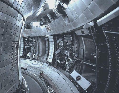 futuristic interior of a . . . ?