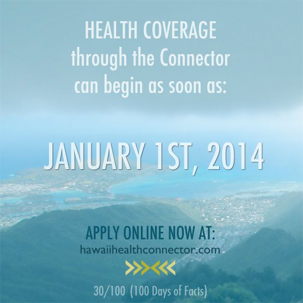 Day 30 #ACA Fact: Health Coverage through the Connector ...