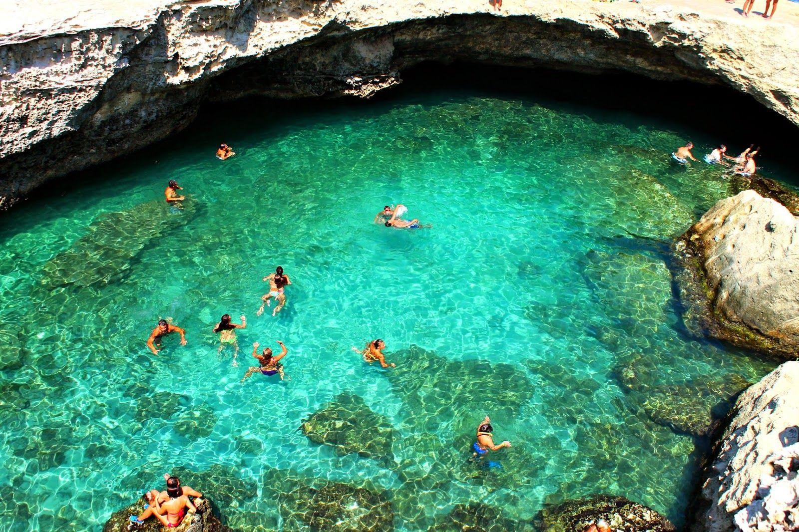 Pensieri in Viaggio: Salento bellissimo e insolito: Grotta della Poesia e Torre Sant'Andrea