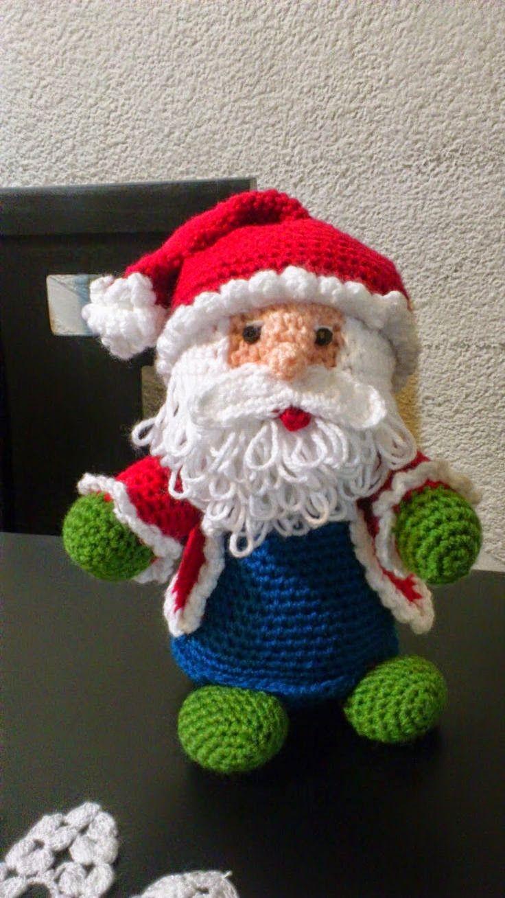 Amigurumi Santa Claus - FREE Crochet Pattern / Tutorial. FREE ...