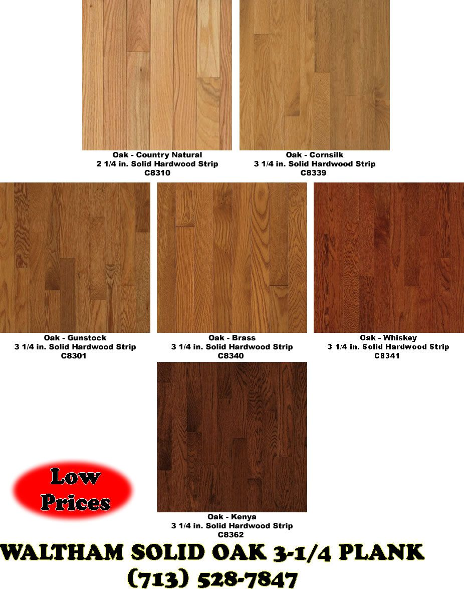 Hardwood floor colors hardwood floors waltham 3 1 for Hard wood floor colors