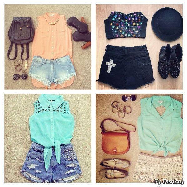 Cool Tumblur 2015 Summer Clothes For Teens Cute Summer Outfits Tumblr Hairstyles For Men Maxibearus
