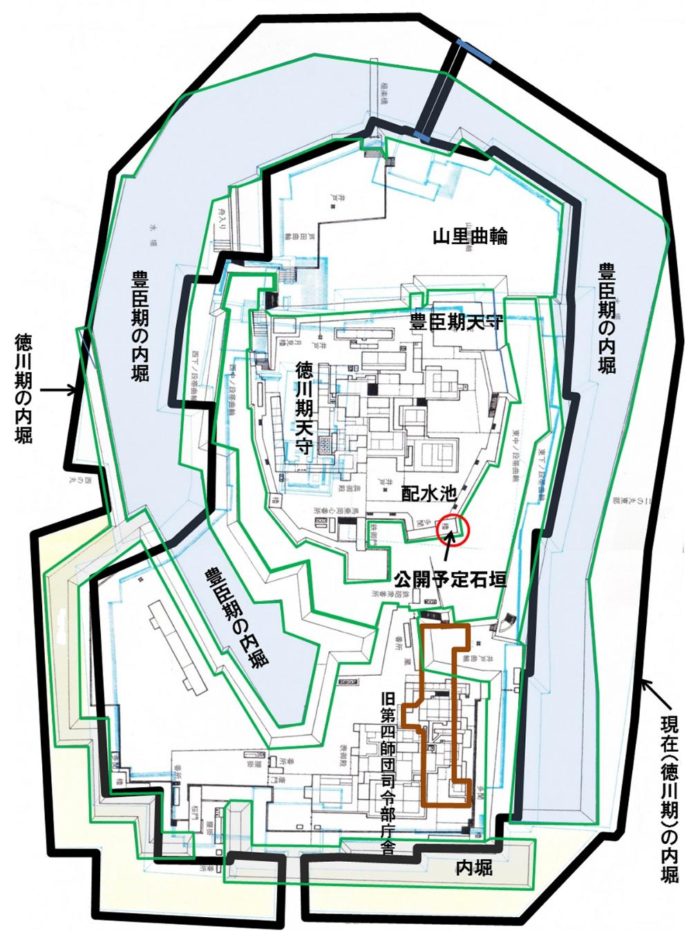 豊臣時代の大阪城を現代に 築城時の石垣を公開するプロジェクトが始動 石垣 城 日本の城