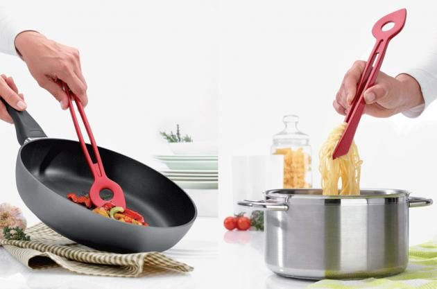 Multipurpose Spoon Tongs Are A Must Have In Any Modern Kitchen