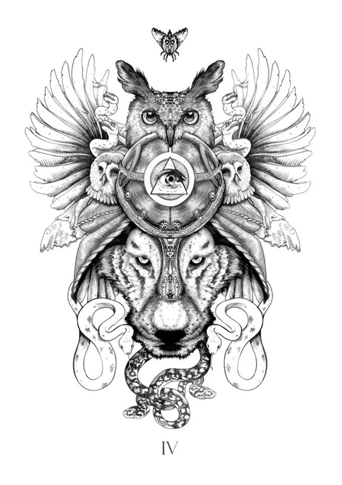 Oliver Munden This Would Be An Awesome Tattoo Totem Tattoo Animal Tattoos Tattoo Designs