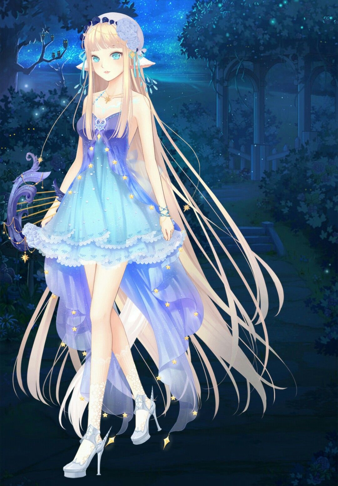 Dress up diary forest - Anime Chibi