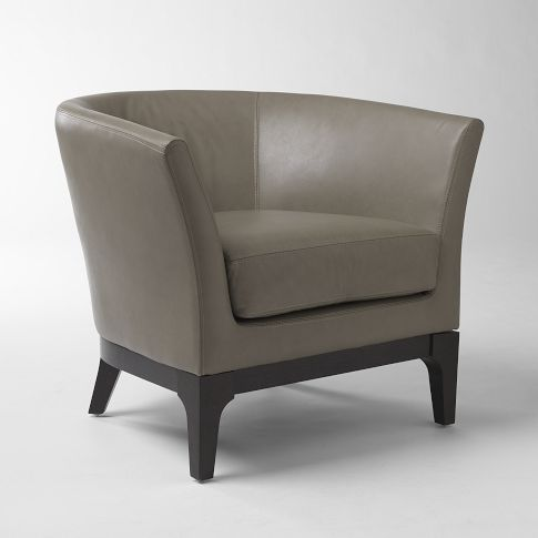West Elm tulip chair - really comfy - need pattern on the side - butacas modernas