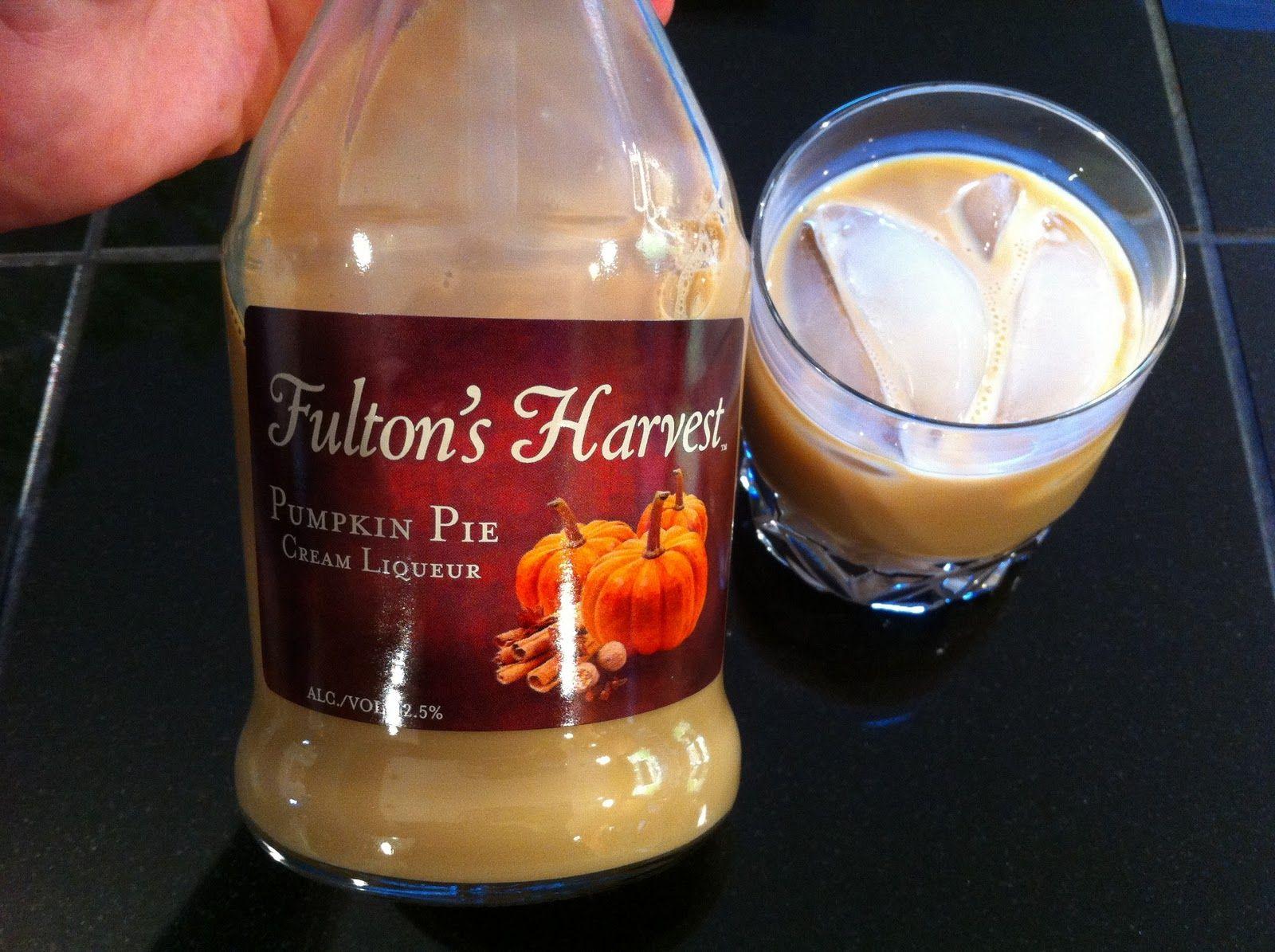 pumpkin pie liquor NorCal Beer Blog Fulton's Harvest