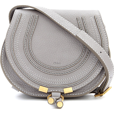 f6ed5985d4 CHLOE Marcie small saddle bag (Cashmere grey £435 | Bags_Purses ...
