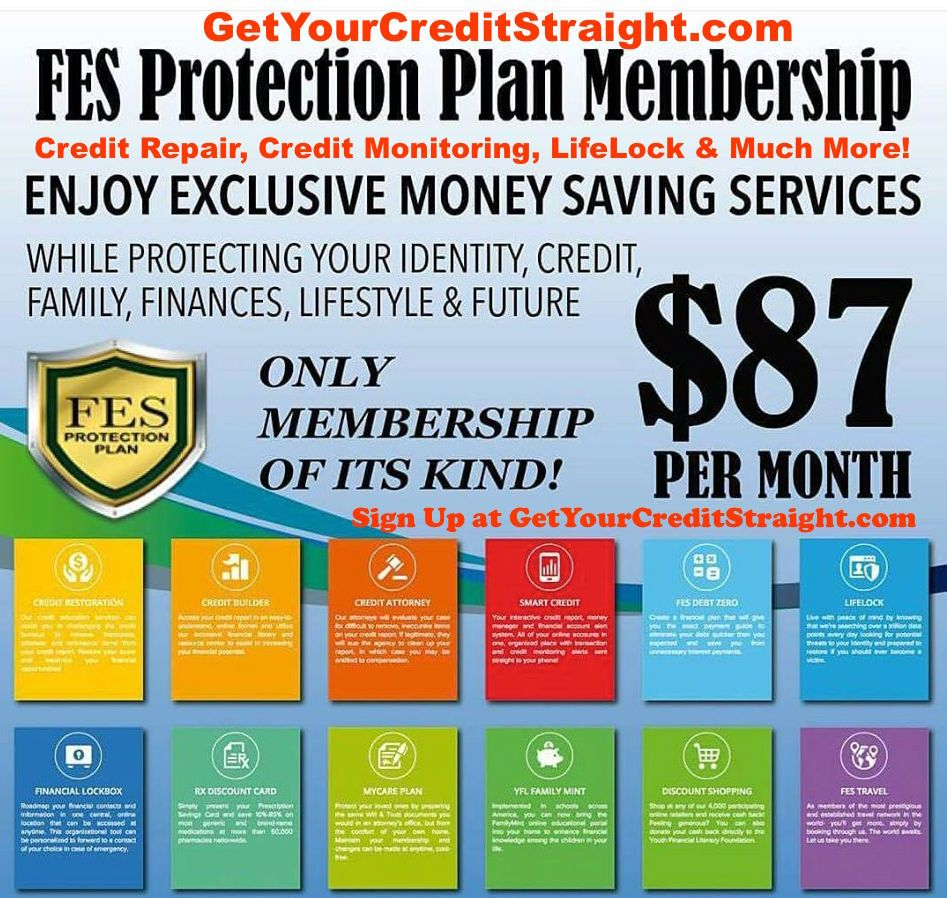 FES Protection Plan Credit Repair that Really Works! www