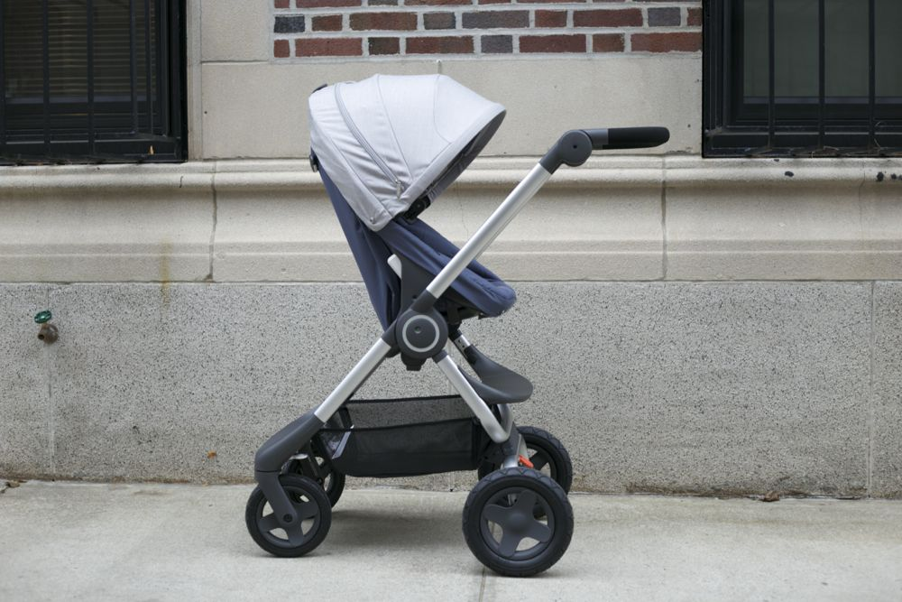 Stokke Scoot Stroller in Slate Blue Best double stroller