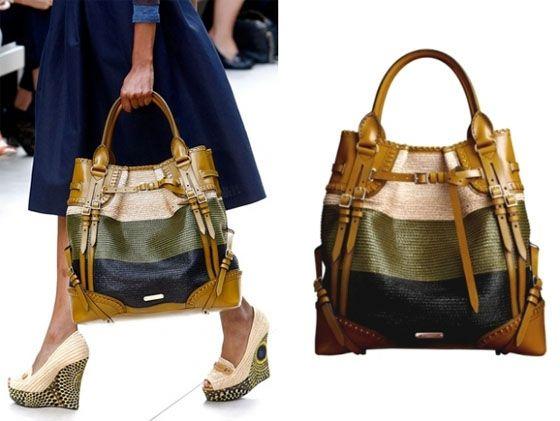 99d25f4664f8 Burberry Prorsum Handbags Collection for Spring 2012