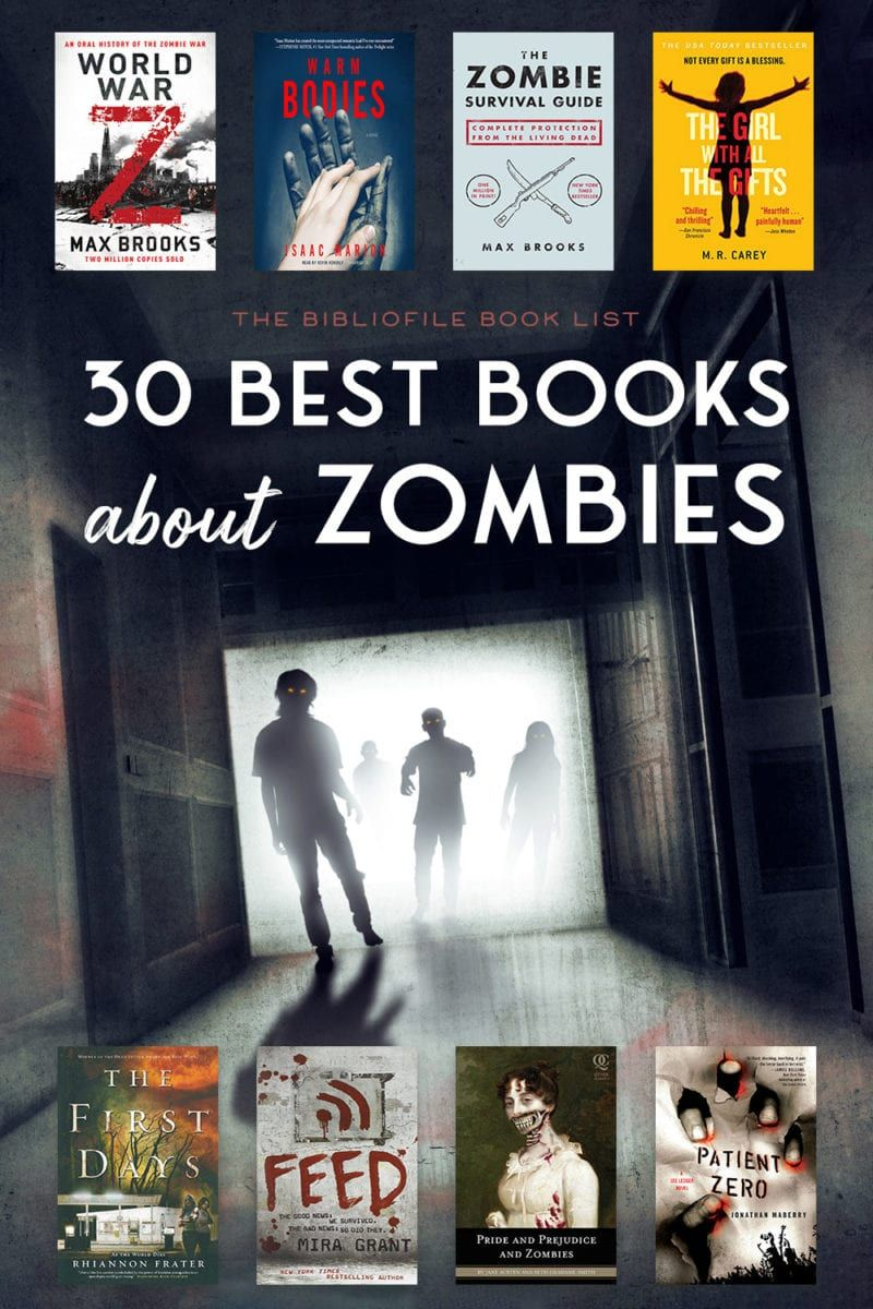 30 Zombie Books to Feast Your Brains on The Bibliofile