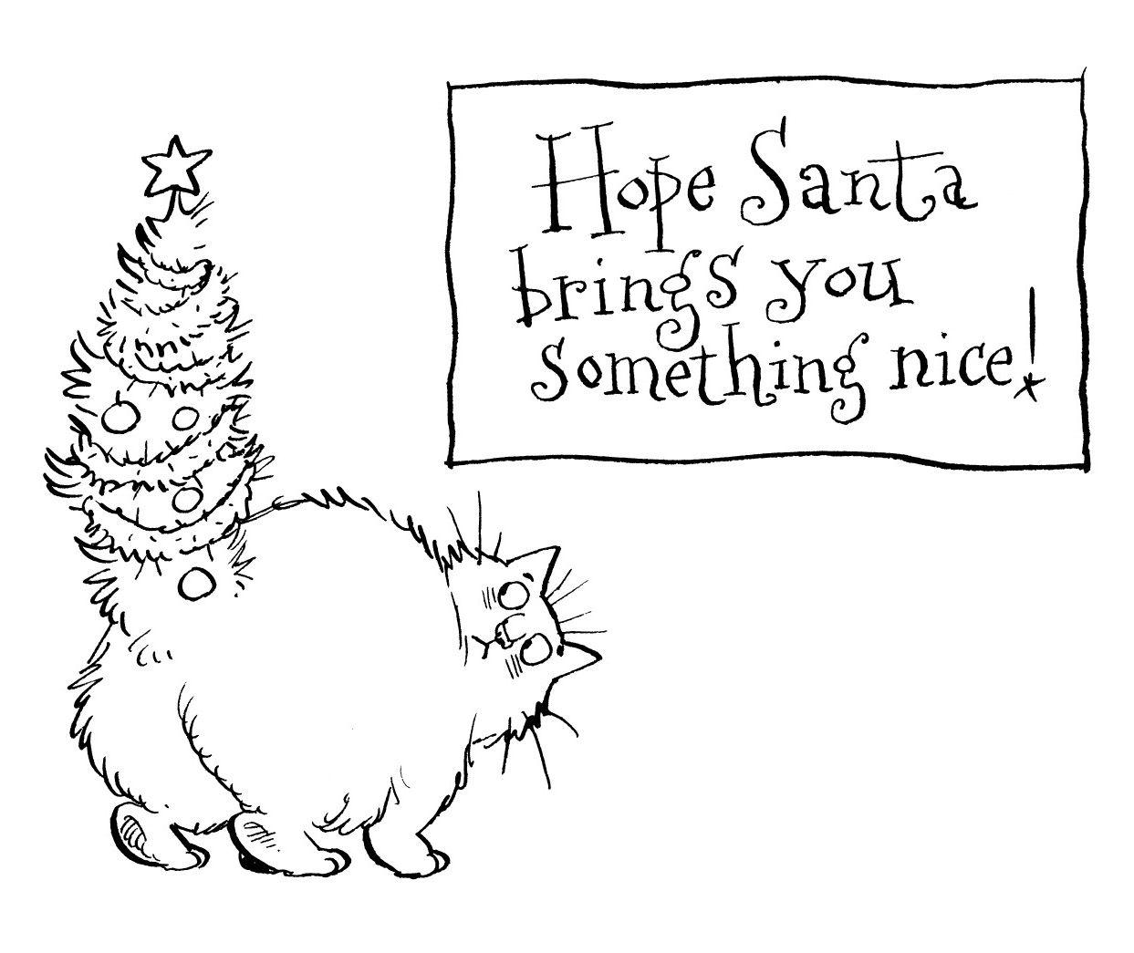 Fat Cat Something Nice   Digi stamps   Pinterest ...