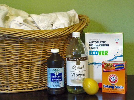 How To Whiten Laundry Without Chlorine Bleach Homemade