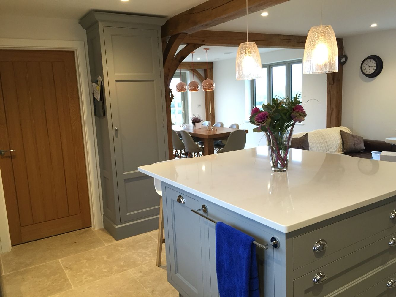 Best Our New Shaker Style Kitchen In Manor House Grey Farrow 400 x 300