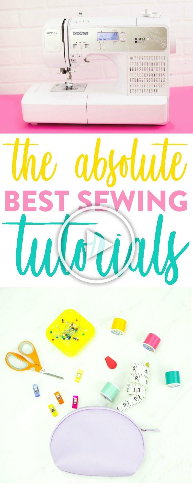 Whether youre a newbie when it comes to sewing or are already a pro we are sure that you can learn even more tips tricks and techniques with these sewing tutorials that w...