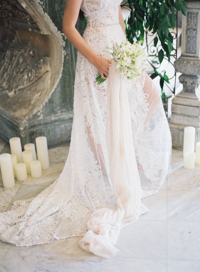 Embroidered wedding gown: http://www.stylemepretty.com/2017/04/26/romantic-wedding-inspiration-in-old-havana-cuba/ Photography: CLY by Matthew - http://www.clybymatthew.com/
