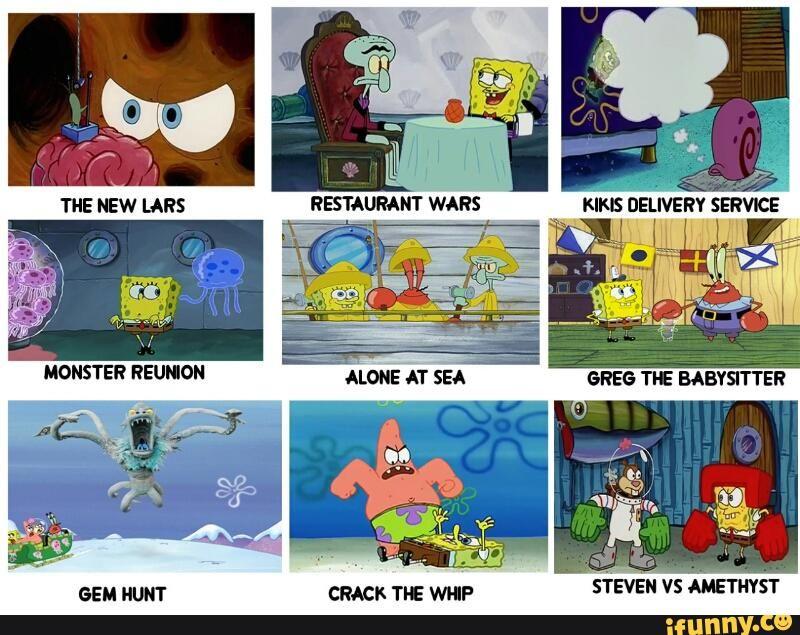 Stevenuniverse Ifunny Spongebob Spongebob Memes Babysitter