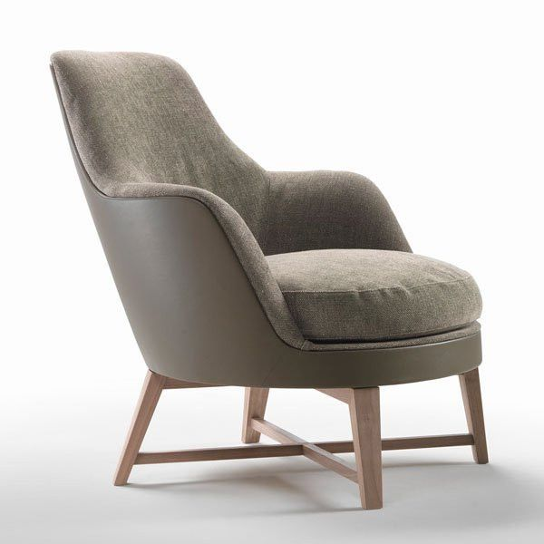 Guscio Soft Armchair Designer Lounge Chairs From Flexform All Information High Resolution Images Cads Catalogues Contact