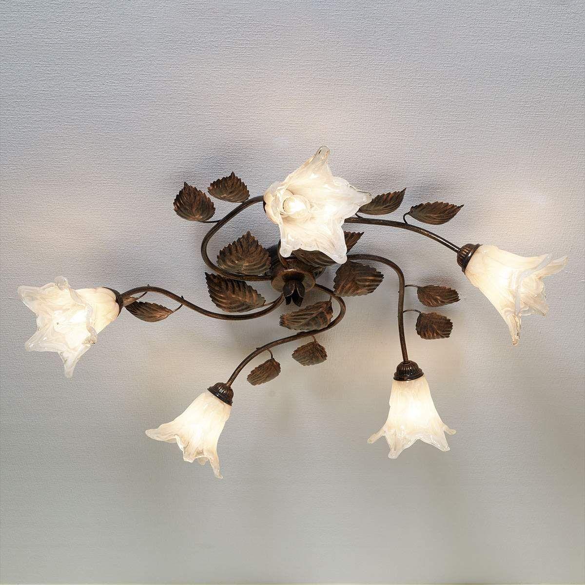 Florentiner Deckenlampe Dvora 5 Flammig Von Lampenwelt Com Deckenlampe Lampen Deckchen