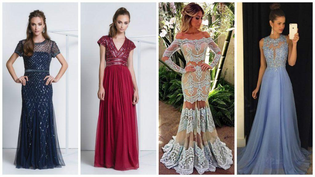 mais de 30 modelos de vestidos para formaturas