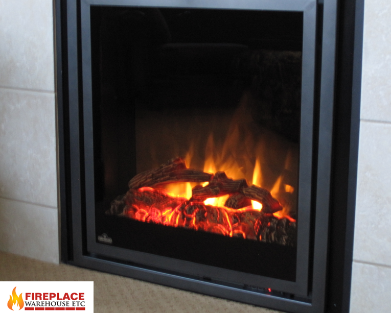 Napoleon Ef30 Lights Up A Room Indoor Electric Fireplace
