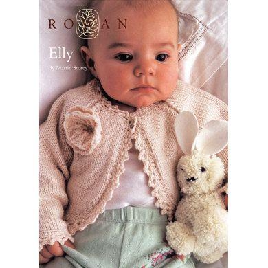 Elly Baby Cardigan in Rowan Baby Merino Silk DK | Knitting Patterns ...