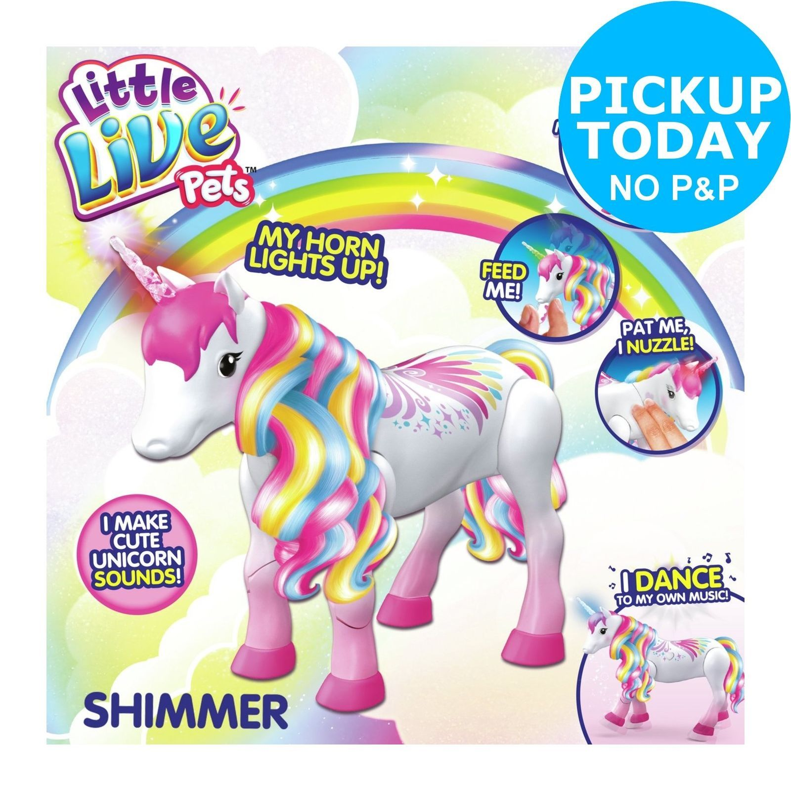 Little Live Pets Rainbow Unicorn Shimmer Ebay Little Live Pets Interactive Puppy Pet Turtle